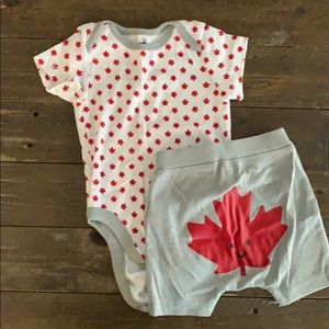 Other - 2 Pc Canada Day Outfit